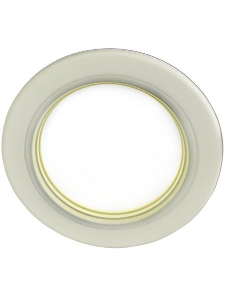NÄVE LED-Deckenleuchte weiß 1-flammig, inkl. Leuchtmittel in neutralweiß