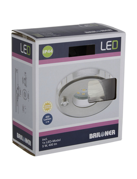 BRILONER LED-Einbauleuchte »ATTACH« LED, inkl. Leuchtmittel in warmweiß