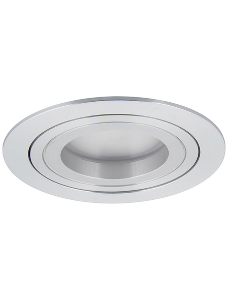PAULMANN LED-Einbauleuchte »Coin«, dimmbar, Aluminium