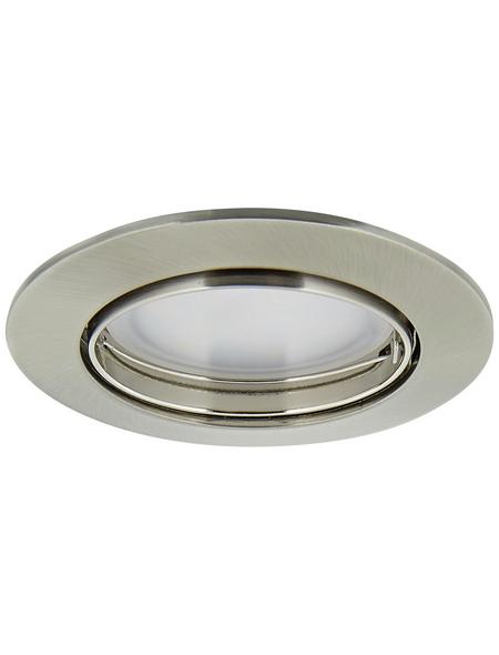 PAULMANN LED-Einbauleuchte »Coin«, dimmbar, Aluminium/Zink