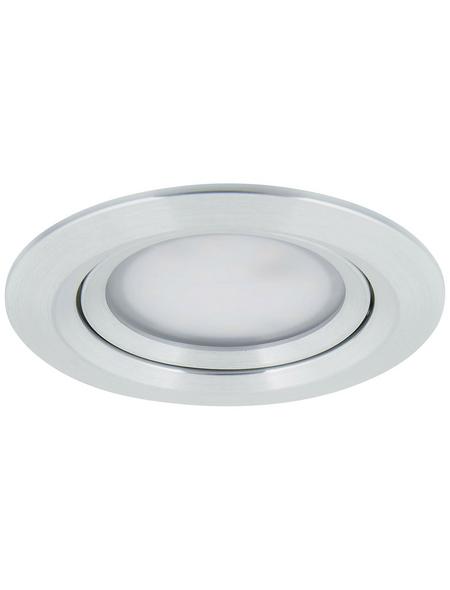 PAULMANN LED-Einbauleuchte »Coin Slim«, dimmbar, Aluminium