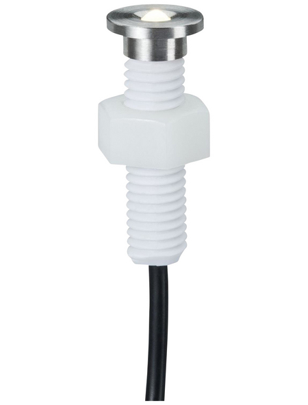 PAULMANN LED-Einbauleuchte »Plug & Shine Basisset«, 1,1 W, IP65, warmweiß
