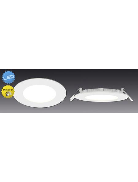 NÄVE LED-Einbaupanel »Dimplex«, dimmbar, inkl. Leuchtmittel in warmweiß