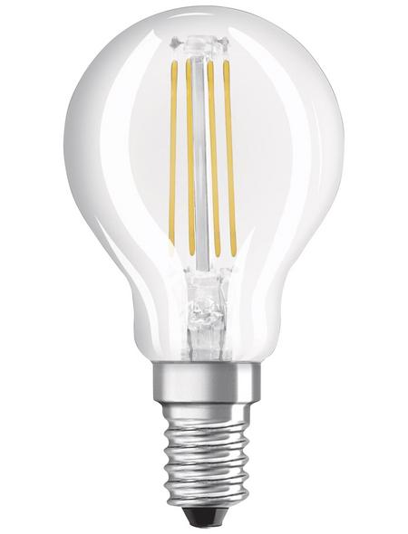 OSRAM LED-Filament-Leuchtmittel »Base Classic P«, 4 W, E14, 4000 K, 470 lm