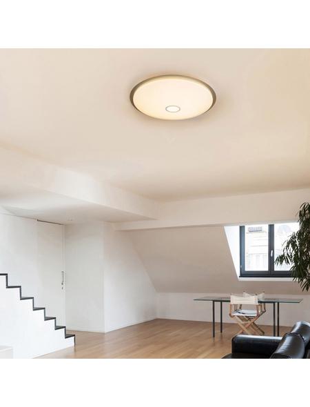 GLOBO LIGHTING LED-Hängeleuchte »RUDI« weiß 1-flammig, dimmbar, inkl. Leuchtmittel