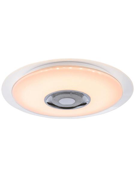 GLOBO LIGHTING LED-Hängeleuchte »TUNE« weiß 1-flammig, dimmbar, inkl. Leuchtmittel