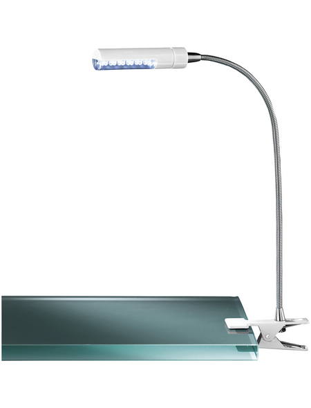 wofi® LED-Klemmleuchte »FLEX«, 12-flg., H: 40 cm, Fest verbaut , inkl. Leuchtmittel in warmweiß