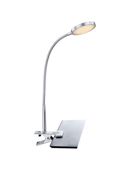 LED-Klemmspot »PEGASI« chromfarben, H: 47 cm, LED inkl. Leuchtmittel