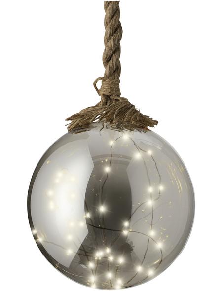 LUMINEO LED-Kugel »Micro«, kugelförmig, Höhe: 80 cm