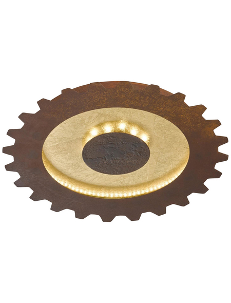 wofi® LED-LEDDeckenleuchte »LEIF«, Kunststoff/Metall