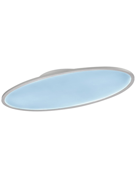 wofi® LED-LEDDeckenleuchte »VALLEY«, dimmbar, Kunststoff/Metall