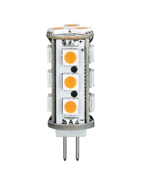 PAULMANN LED-Leuchtmittel, 2,5 W, G4, 2700 K, warmweiß, 170 lm