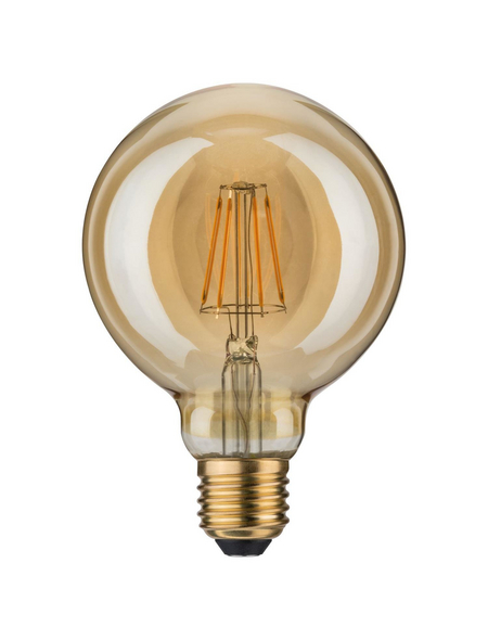 PAULMANN LED-Leuchtmittel, 6,5 W, E27, 1700 K, warmweiß, 400 lm