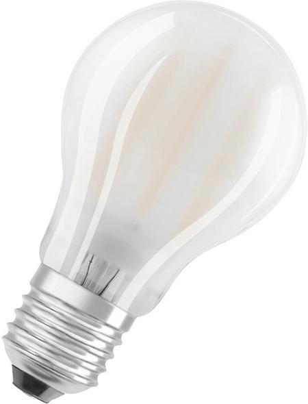 OSRAM LED-Leuchtmittel, 7 W, E27, warm, warmweiß, 806 lm