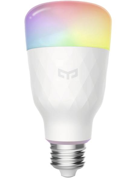 YEELIGHT LED-Leuchtmittel, 8,5 W, E27, 1700 – 6500 K, mehrfarbig, 40–800 lm