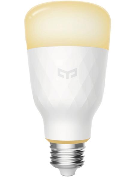 YEELIGHT LED-Leuchtmittel, 8,5 W, E27, 2700 K, weiß, 40–800 lm