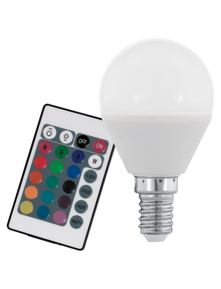 EGLO LED-Leuchtmittel »Colours«, 4 W, E14, 3000 K, mehrfarbig, 300 lm
