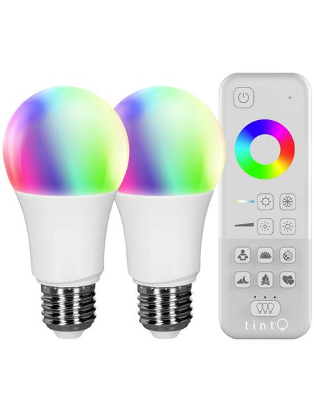 MÜLLER LICHT LED-Leuchtmittel, E27, RGBW (mit Weiß)