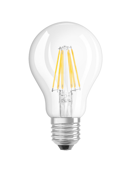 OSRAM LED-Leuchtmittel »Filament RETROFIT CLASSIC«, 7 W, E27, 2700 K, warmweiß, 806 lm