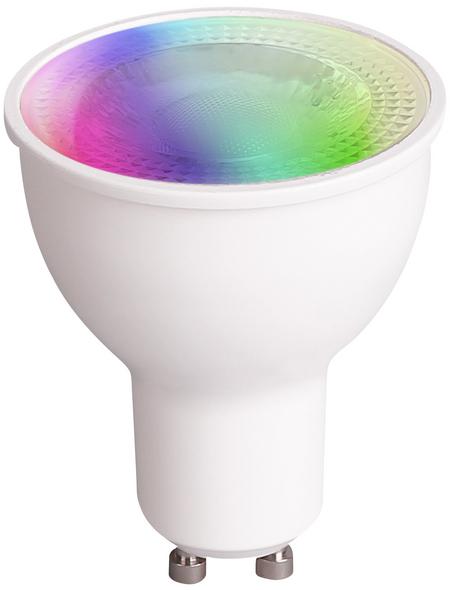 MÜLLER LICHT LED-Leuchtmittel, GU10, RGBW (mit Weiß)