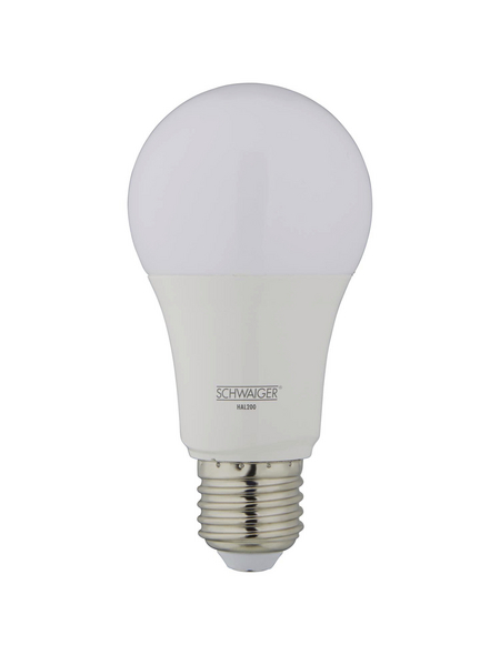 SCHWAIGER LED-Leuchtmittel »HOME4YOU«, 9 W, E27, 2700 – 6500 K, 806 lm
