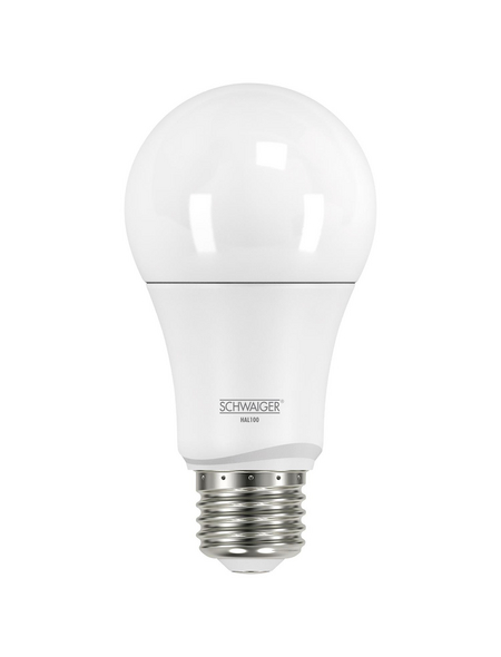 SCHWAIGER LED-Leuchtmittel »HOME4YOU«, 9 W, E27, 2700 K, warmweiß, 806 lm