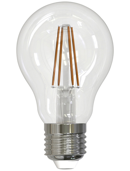 CASAYA LED-Leuchtmittel »Retro HD«, 4,5 W, E27, 2700 K, warmweiß, 470 lm