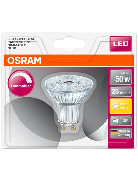 OSRAM LED-Leuchtmittel »SUPERSTAR«, 5,5 W, GU10, 2700 K, 350 lm