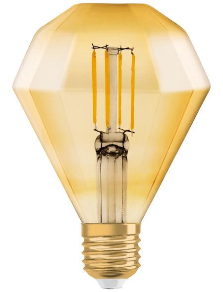 OSRAM LED-Leuchtmittel »Vintage 1906«, 4,5 W, E27, 2500 K, warmweiß, 420 lm