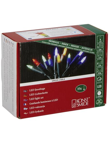 KONSTSMIDE LED-Lichterkette  RGB (mehrfarbig) mit 35 LEDs