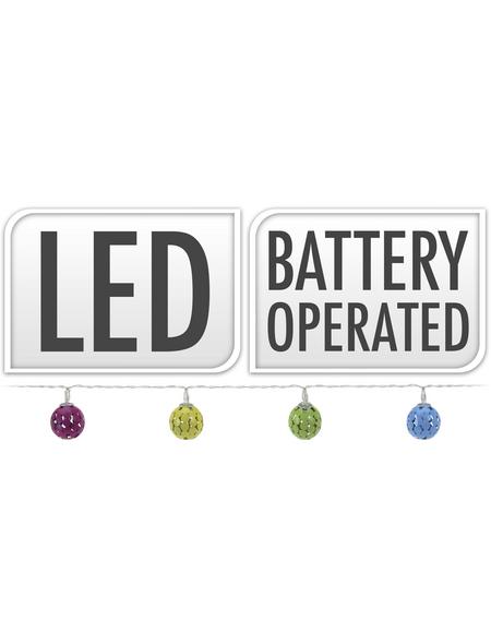 LED-Lichterkette, warmweiß, Kabellänge: 30 m