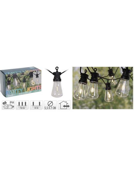 LED-Lichterkette, warmweiß, Kabellänge: 300 m