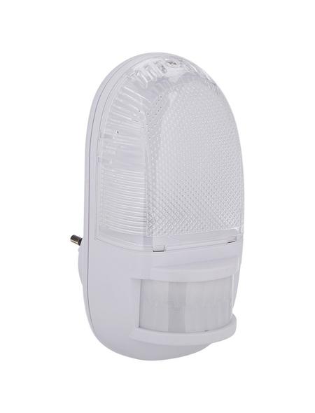REV LED-Nachtlicht mit Bewegungsmelder weiß 1-flammig 1 W 6,5 x 14 x 7 cm