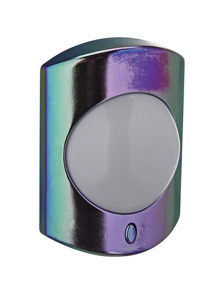 REV LED-Nachtlicht mit Farbwechselfunktion metallic 1-flammig 1 W 7,2 x 9,8 x 7,9 cm
