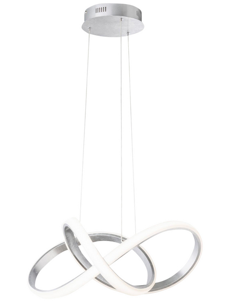 wofi® LED-Pendelleuchte »INDIGO«, dimmbar, Aluminium/Silikon/Metall