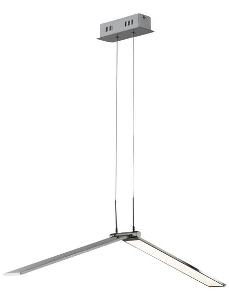 wofi® LED-Pendelleuchte »LIVIA«, dimmbar, inkl. Leuchtmittel in warmweiß