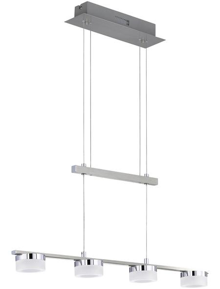 wofi® LED-Pendelleuchte »LOGAN«, dimmbar, inkl. Leuchtmittel in warmweiß