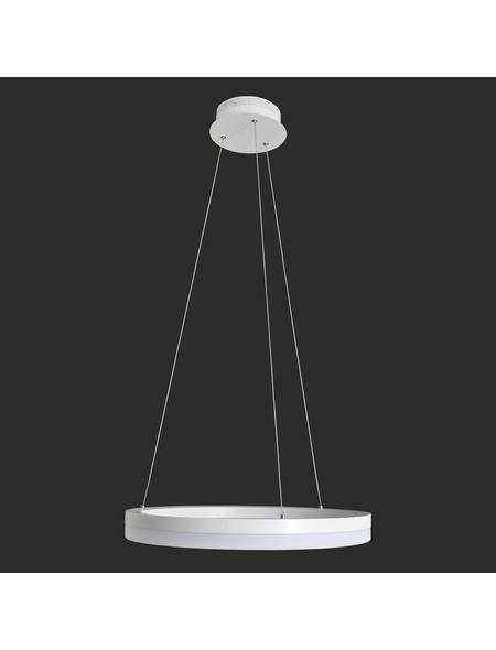 NÄVE LED-Pendelleuchte »Saturn« weiß 1-flammig, inkl. Leuchtmittel in warmweiß