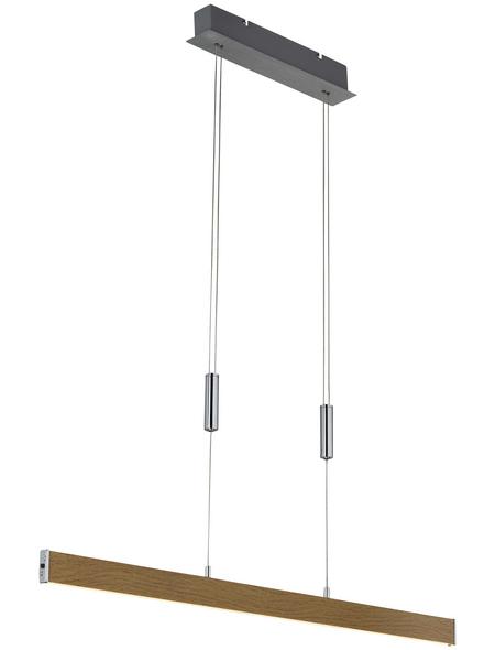 wofi® LED-Pendelleuchte »SYDNEY«, dimmbar, inkl. Leuchtmittel in warmweiß