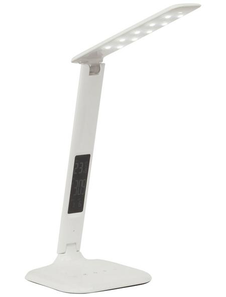 BRILLIANT LED-Schreibtischlampe »Glenn« Weiß, H: 55 cm,  inkl. Leuchtmittel in tageslichtweiß/warmweiß/neutralweiß