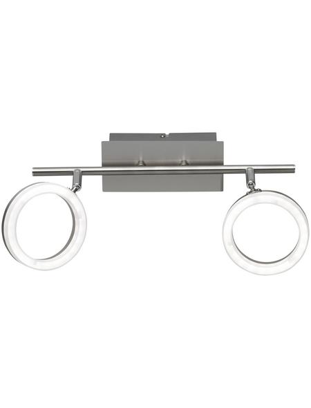wofi® LED-Spot , 2-strahlig, inkl. Leuchtmittel in warmweiß