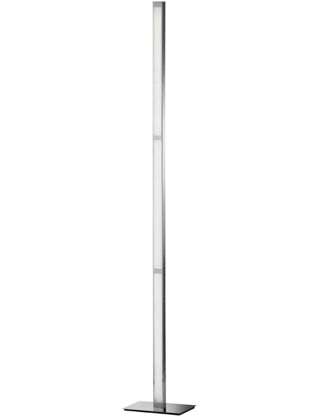 wofi® LED-Stehleuchte chrom mit 30 W, H: 139,5 cm, LED  in Warmweiß