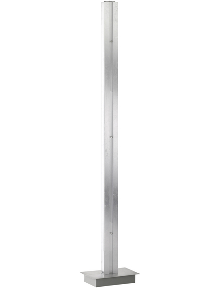 wofi® LED-Stehleuchte chromfarben mit 19 W, 2-flammig, H: 141 cm, LED  in Warmweiß