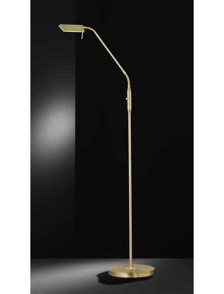 wofi® LED-Stehleuchte messingfarben mit 8 W, H: 150 cm, LED  in Warmweiß