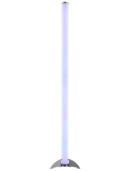 GLOBO LIGHTING LED-Stehleuchte »ROCKY« transparent, H: 121 cm, LED inkl. Leuchtmittel in RGB (mehrfarbig)