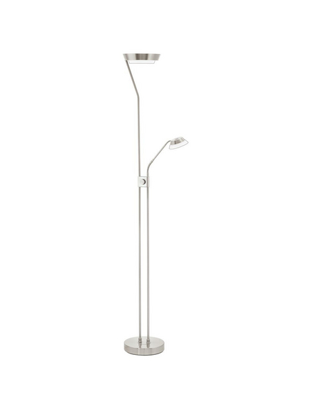 EGLO LED-Stehleuchte »SARRIONE« nickelfarben, 3-flammig, H: 180 cm,  inkl. Leuchtmittel in Warmweiß