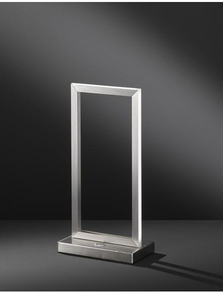 wofi® LED-Tischleuchte aluminiumfarben mit 10 W, H: 35 cm, LED  in Warmweiß