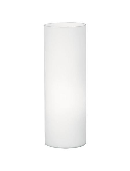 EGLO LED-Tischleuchte »ELLUNO-C« Weiß, H: 27 cm, E27 inkl. Leuchtmittel in Warmweiß