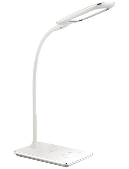 GLOBO LIGHTING LED-Tischleuchte »HEKLA« Weiß, H: 56 cm,  inkl. Leuchtmittel in tageslichtweiß/warmweiß