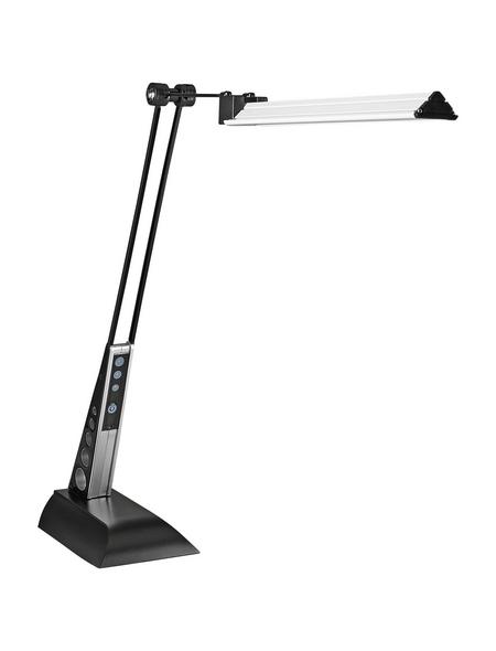 BRILLIANT LED-Tischleuchte »Jaap« schwarz/chromfarben, H: 32 – 49 cm,  inkl. Leuchtmittel in Warmweiß